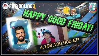 ~4 Billion From Lottery!~ Good Friday Lottery 2019 Opening - FIFA ONLINE 3