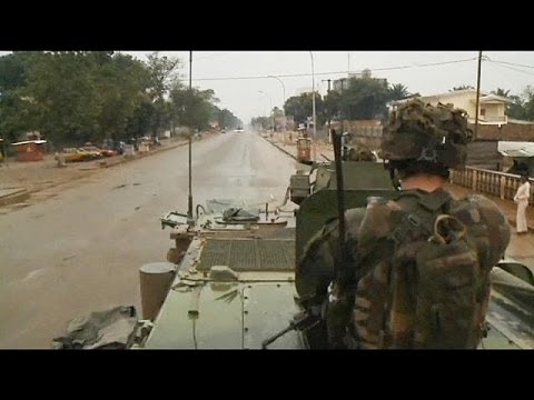 French CAF force reaches full strength, deploys outside Bangui