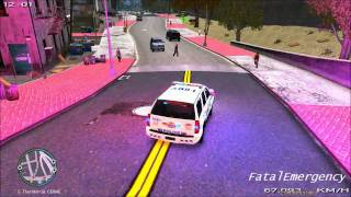 [FatalEmergency] GTA IV - LCPD:FR - RCMP and BC Transit Police Pursue armed Robbers