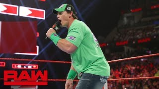John Cena declares for the 2019 Men's Royal Rumble Match: Raw, Jan. 7, 2019
