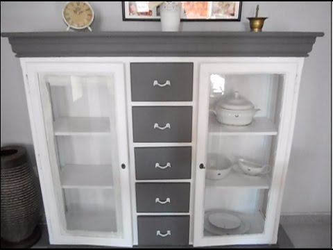Pintar mueble sal n youtube for Pintar mueble de melamina en blanco