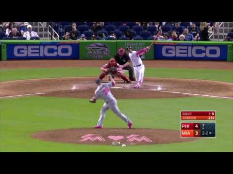 All Miami Marlins 2016 Home Runs (Part 1)