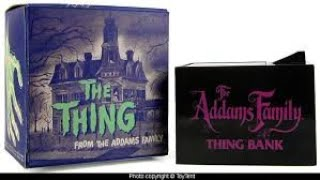 The mysterious black box | Addams family thing bank the history behind it