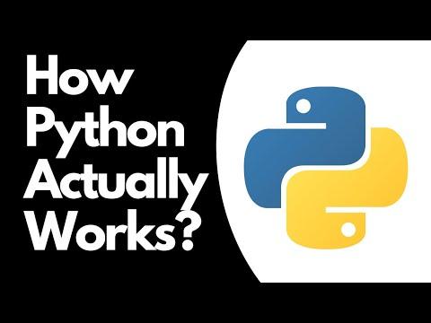 How Python Works | Python programming Language working | 2020
