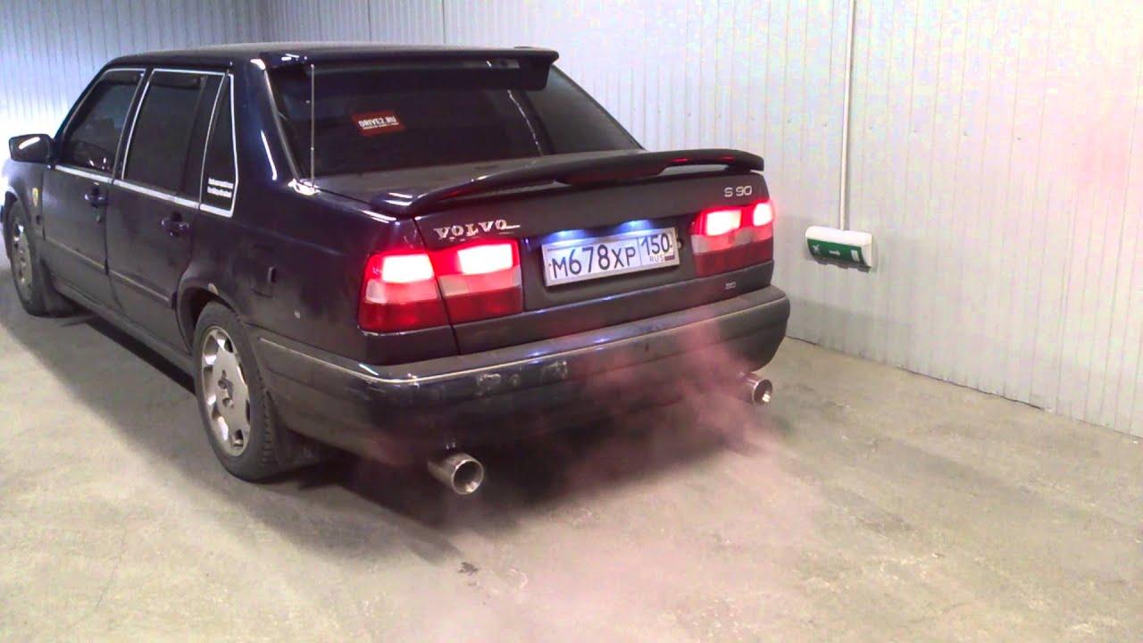 Volvo s90 fox exhaust