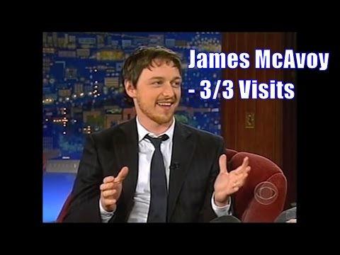 James McAvoy  The Infamous Vortex Of Scottish Charm  33 Visits In Chronological Order 240480