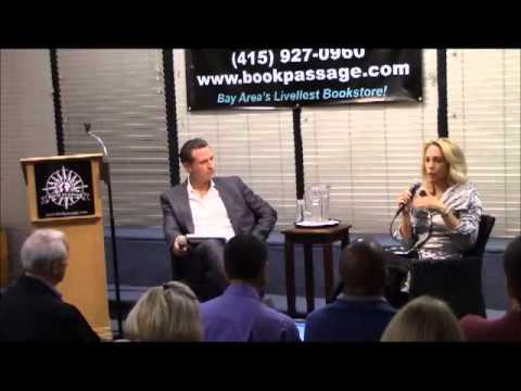 Valerie Plame & Lt. Governor Gavin Newsom Discuss Blowback (Corte Madera, CA)