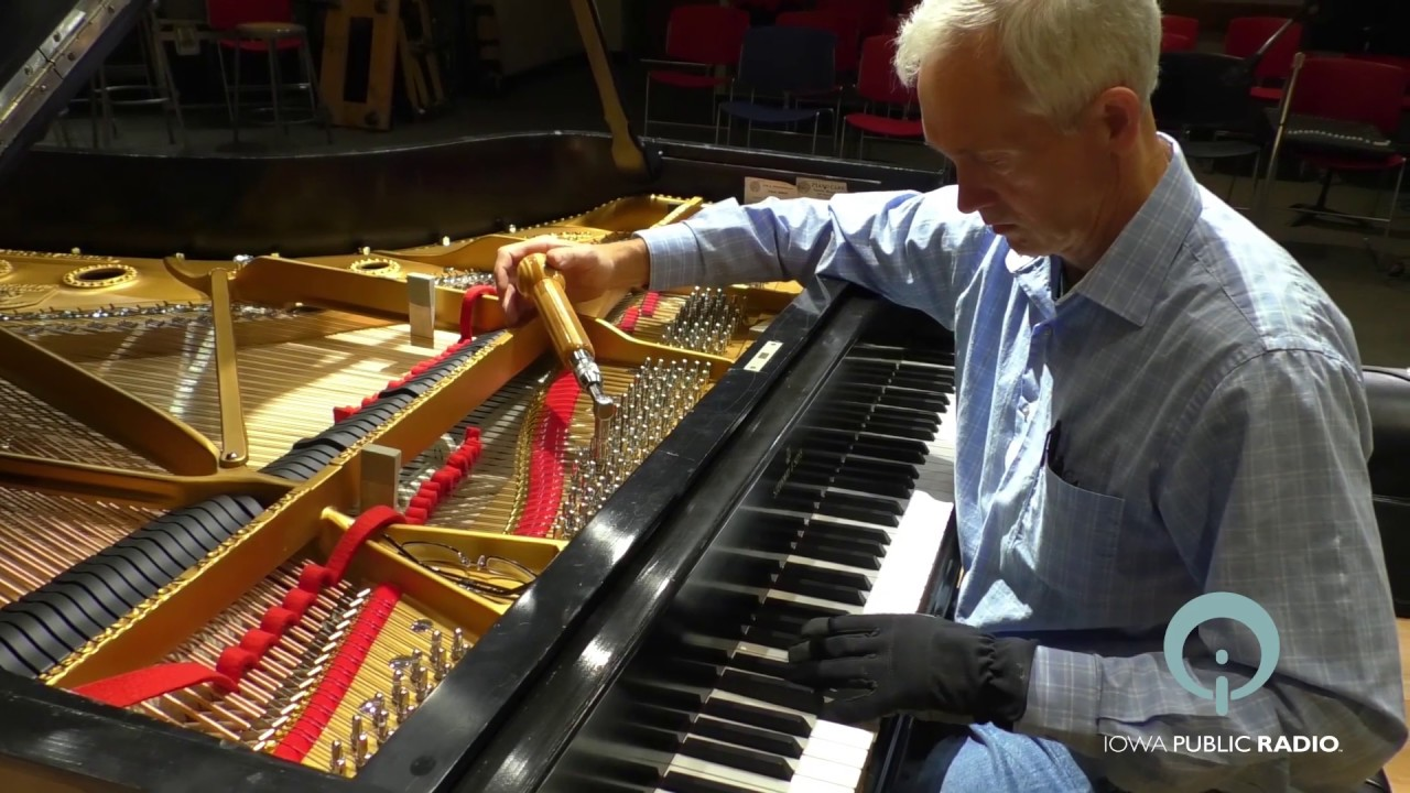 IPR Restores a 1918 Steinway B Grand Piano