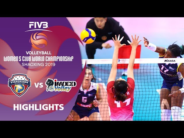 Guangdong Evergrande vs. Imoco Volley - Highlights | Women's Volleyball Club World Champs 2019