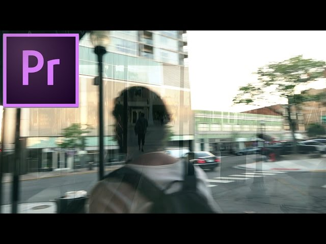 Adobe Premiere Pro CC Tutorial: Time Delay Video Echo Effect