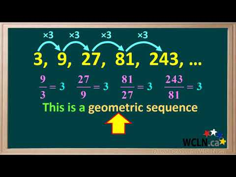 WCLN - Arithmetic and Geometric Sequences