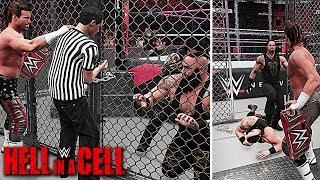WWE 2K18 Hell In A Cell 2018 Roman Reigns vs Braun Strowman Universal Championship Match!