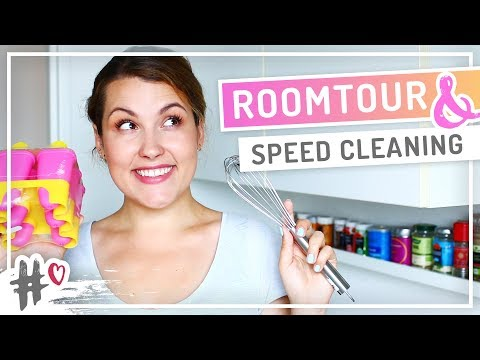 ROOMTOUR – Speed cleaning in der Küche #NURWASICHMAG Challenge #TypischSissi