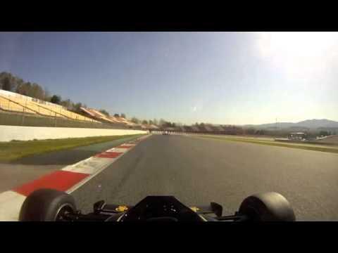 Lotus 92 Qualifying Barcelona 2013 Part 1