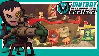 ¡Al ataque con el Buque de Asalto de Mutant Busters!