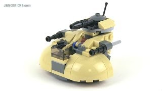 LEGO Star Wars Microfighters 75029 AAT droid tank review!