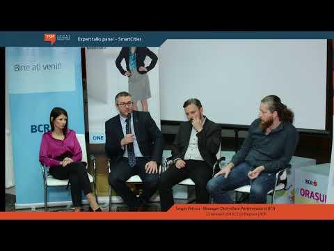 Expert talks panel – SmartCities