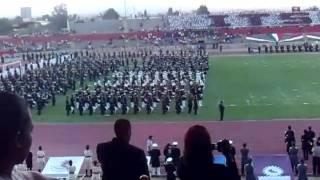 Inaguracion encuentro de bandas de guerra y escoltas  SLP 2011