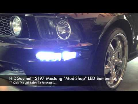 """2005-2009 Ford Mustang S197 HID Guy """"Mod Shop"""" LED ..."""