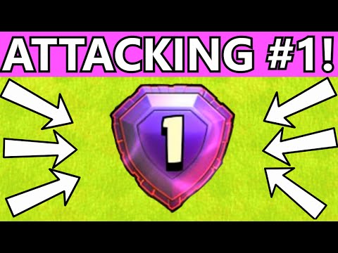 Clash of Clans NUMBER 1 PLAYER IN THE WORLD (MINI LEGEND ACCOUNT) ATTACKED | FORMER #1 PLAYER