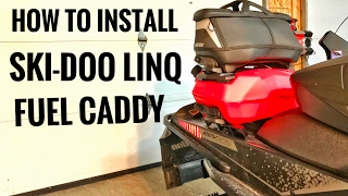 How to install the new 2017 LinQ Fuel Caddy Ski-Doo LinQ System Fue...