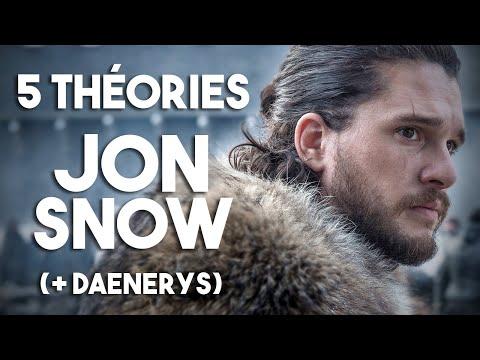 5 THÉORIES - Jon Snow (Game of Thrones - Saison 8)