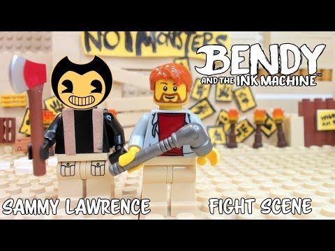 Sammy Lawrence Battle Lego Bendy And The Ink Machine 5