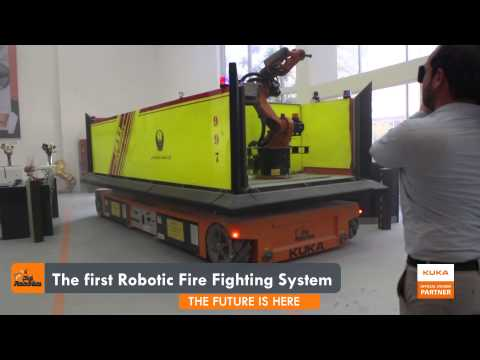 DigiFire - The World's 1st Robotics Fire Fighting System