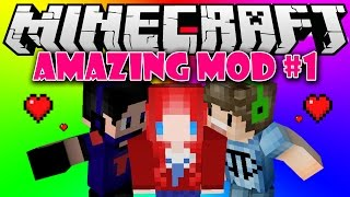 Minecraft Mod อะเมซิ่ง Survival ตอนที่1 ขุดเพชรแบบชิวๆ [KNcrazy]