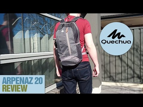 90cca2b1f36c0 Quechua Arpenaz 20L Backpack Review - YouTube