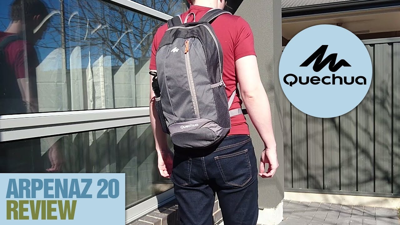 Quechua Arpenaz 20l Backpack Review Youtube
