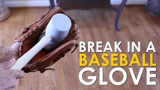 Video How to Break in a Baseball Glove | The Art of Manliness download MP3, 3GP, MP4, WEBM, AVI, FLV Juli 2018
