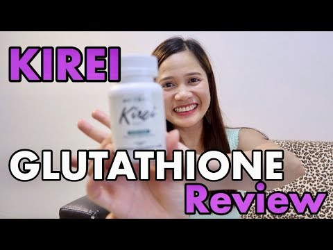 KIREI GLUTATHIONE PRODUCT REVIEW! |1 MONTH RESULT