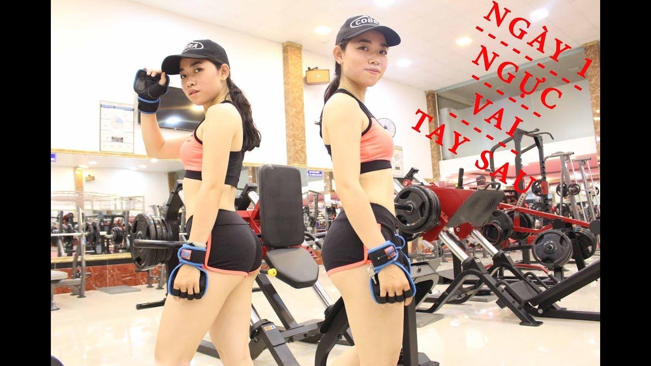 Đích Đến Gym | Ngày 1 | Ngực – Vai – Tay Sau Dành Cho Nữ