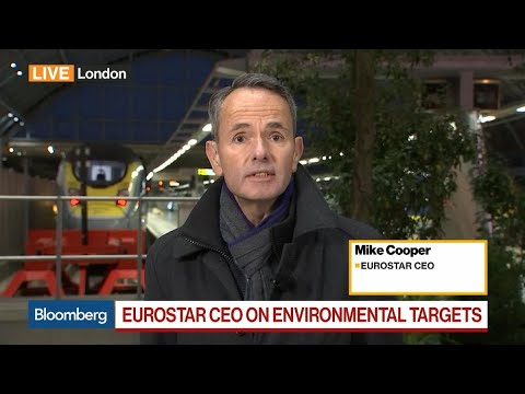 Customers Increasingly Switching To Rail From Air, Says Eurostar's CEO