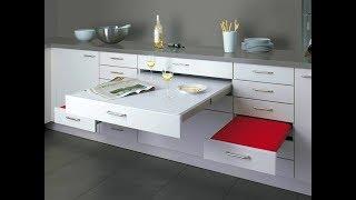 Мебель трансформер для кухни. Обзор.