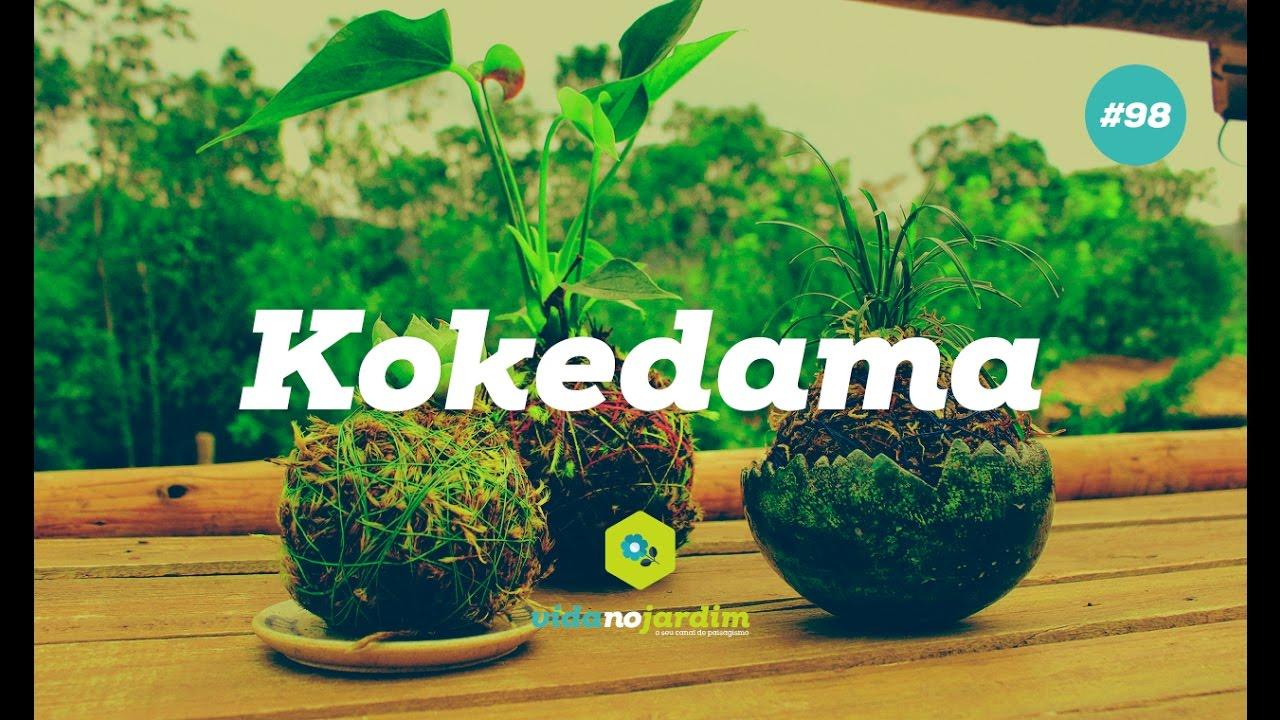10071afda Como fazer e cuidar do kokedama - YouTube