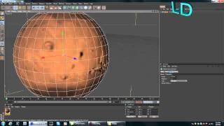 Cinema 4D | Creating The Solar System | Mars