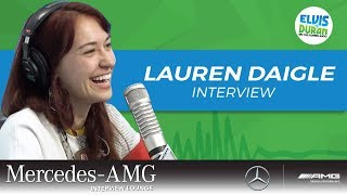 Lauren Daigle Talks Selling Out Radio City | Elvis Duran Show