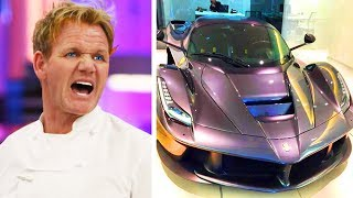 10 Times Gordon Ramsay Purchased RIDICULOUSLY EXPENSIVE THINGS!
