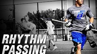 KBT Lacrosse Rhythm Passing Drill | Lacrosse Passing Drills