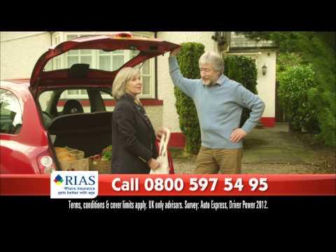 RIAS Car Insurance advert