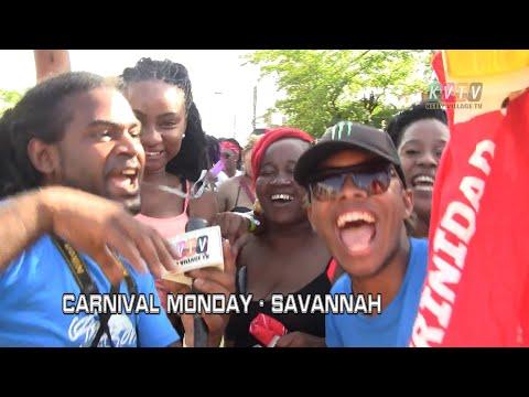 CARNIVAL MONDAY 2018  SAVANNAH  Trinidad Carnival 2018