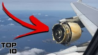 Top 10 Scary Things You DON'T Want To See On A Plane