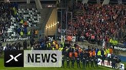26 Verletzte bei Tribüneneinsturz in Frankreich: Amiens - Lille   News   Highlights Ligue 1   SPOX