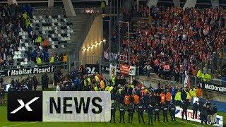 26 Verletzte bei Tribüneneinsturz in Frankreich: Amiens - Lille | News | Highlights Ligue 1 | SPOX