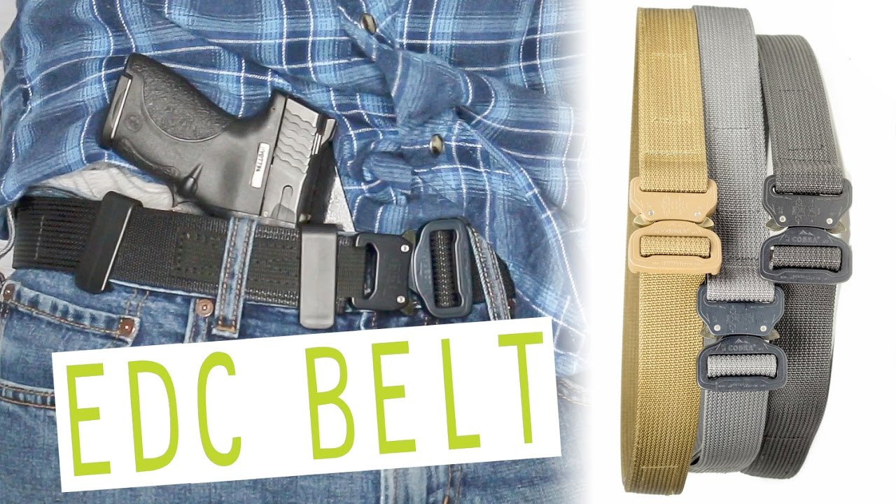 be90fe2825526 CONCEAL CARRY / EDC BELT! | Blue Alpha Gear - YouTube