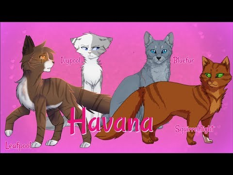Havana - Leafpool, Squirrelflight, Bluefur, and Ivypool - Warrior Cats Animator Tribute / Animash