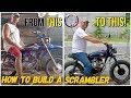 We built a Honda Scrambler motorbike! Davao PHILIPPINES