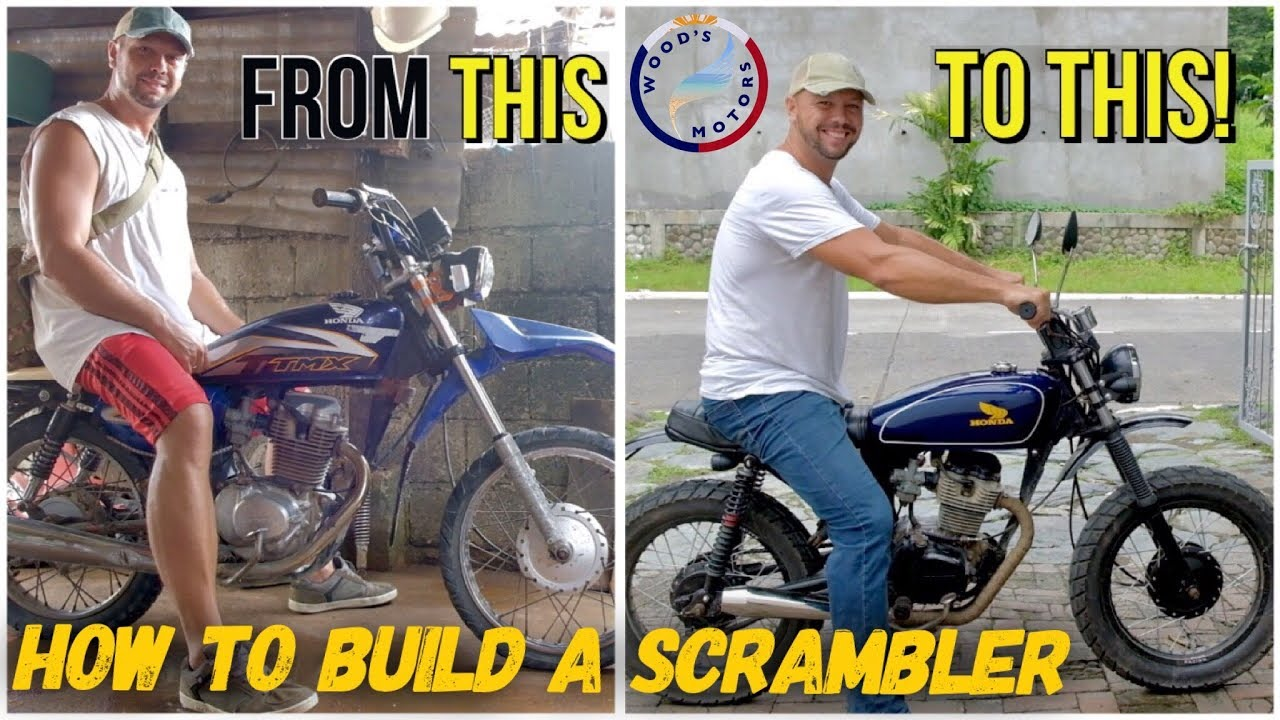 hight resolution of we built a honda scrambler motorbike davao philippines